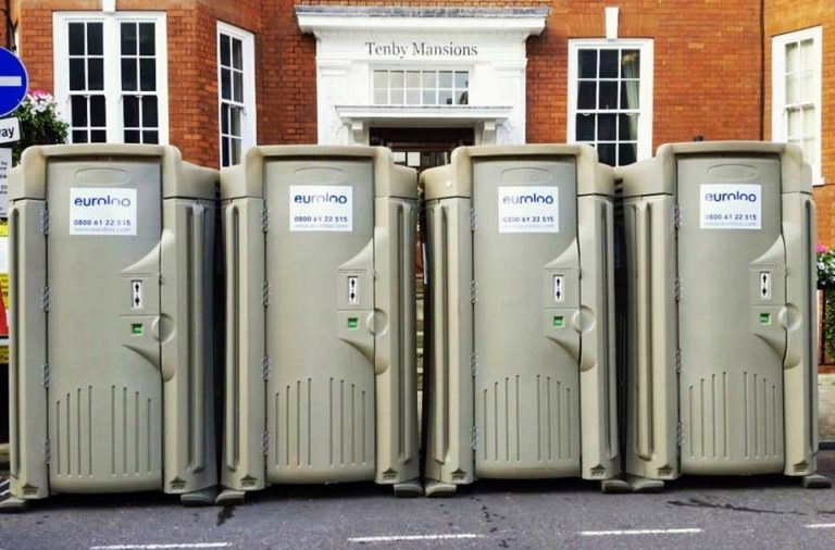 Need emergency portable toilets delivered