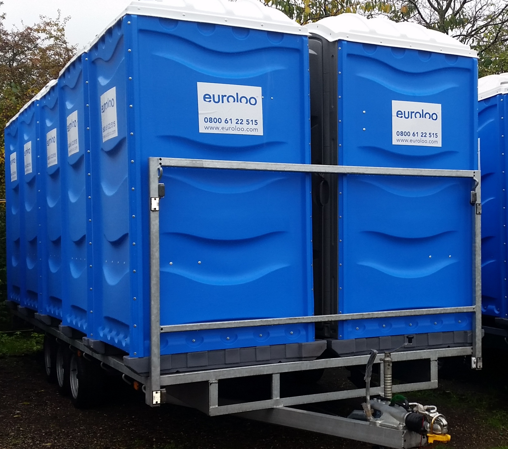 Emergency Temporary Toilets for rental